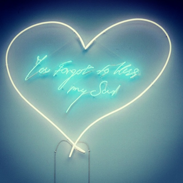 you forgot to kiss my soul tracey emin cosmic pineapple