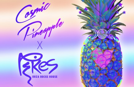 Cosmic Pineapple at Pikes, Ibiza Rocks House