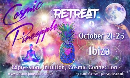 Cosmic Pineapple – Full Moon higher chakra retreat