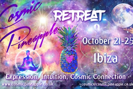 Cosmic Pineapple – Full Moon higher chakra retreat