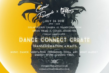 Cosmic Pineapple TRANSFORMATION – July 26th – Schedule announced!